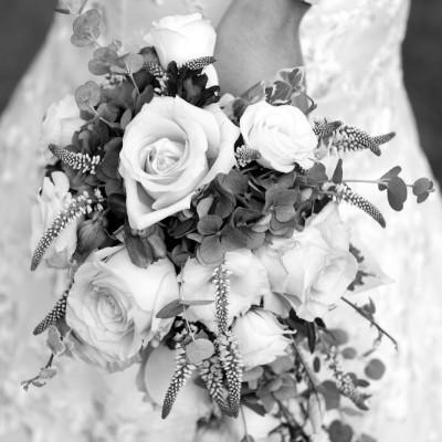 Ta Mill Wedding Venue.  Flowers by Flower Scene. September.