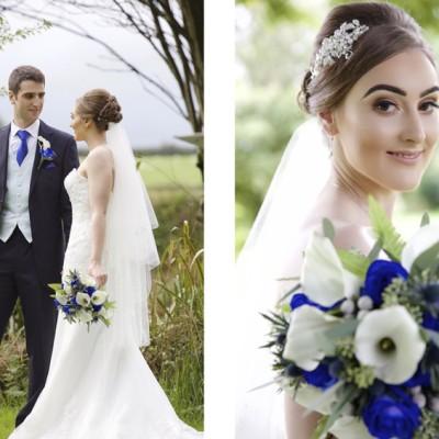 Ta Mill Wedding Venue, Launceston, North Cornwall.  Flowers by Flower Scene. September.