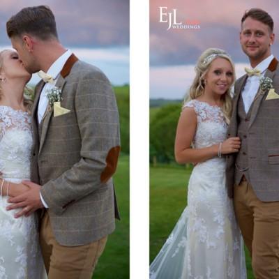 The Green Weddings Cornwall, Liskeard. MUA Abi Scott.  May.