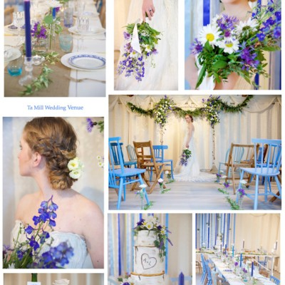 Ta Mill Wedding Venue, Cornwall. Stargazey Wedding hire & Stylist, Donna Jane Cakes, Pippa's Vintage Hire, Richard Cowell Bespoke Jeweller, Hair, By Craig Chapman Hair Design, Floral Creations St. Austell. Stationery, Paper Princess. April.