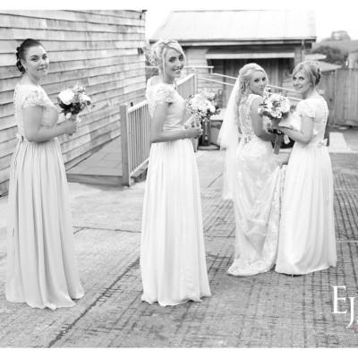 The Green Weddings Cornwall. MUA Abi Scott, Flowers, Donna Cornish. May.