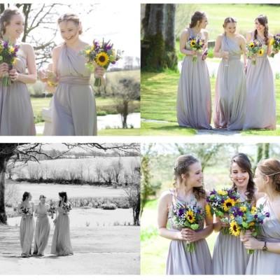 Ta Mill Wedding Venue. Flowers by Flower Scene. March.