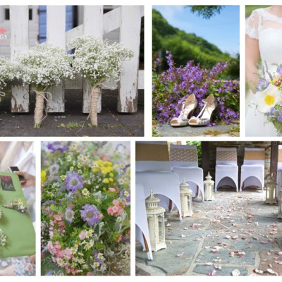 The Millhouse, Trebarwith Strand, North Cornwall. Karen's Covers, Phillip Corps Flowers, Jenny Packham Shoes. June.